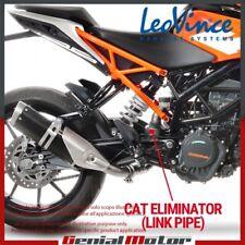 KTM RC 390 2018 18 LEOVINCE LINK PIPE CAT ELIMINATOR 8086