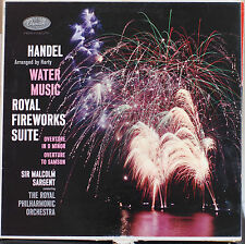 HANDEL WATER MUSIC ROYAL FIREWORKS SUITE  LP 2039
