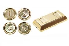 Lego Gold Chrome Coins & Ingot (97053) NEW!!!
