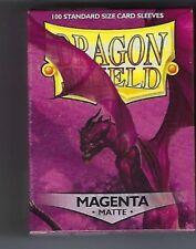 Dragon Shield Matte Magenta (100) Shield Sleeves Free Shipping