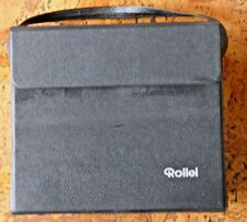 More details for rollei black projector hard carry case universal 29cm w 24cm h 13cm d