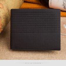 Men's Leather Wallet Pockets ID Credit Card Holder Clutch Bifold Purse Coin Case