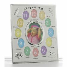 My First Year Photo Frame Multi Photo Frame with 13 Photos 1st birthday gift