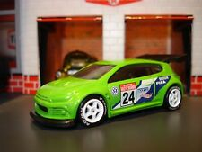 "VOLKSWAGEN SCIROCCO GT 24 CUSTOM EDITION 1/64 HW ""ADVAN""  CUSTOM WHEELS ADDED"