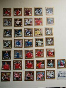 Merlin ~ Walkers 2002 Football Premier League Stickers (UK Blue Back) (EF7)