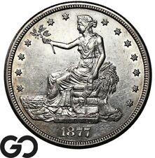 1877-S Trade Dollar, Sharply Struck Early Silver $