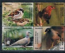 Bangladesh 2011 Birds of Bangladesh 4v Block MNH