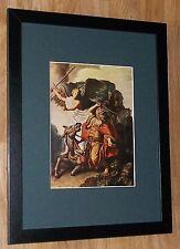 "Incorniciato 12"" x16"", REMBRANDT, BIBBIA dipinti, i comandanti dipinti, PROFETA BALAAM"