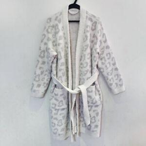 New Barefoot Dreams CozyChic In The Wild Robe Cream M