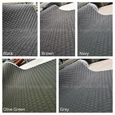 Ready Quilted 100% Waterproof Fabric Material Padded Pre Quilted 150Cm Wide