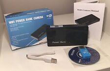 Espía Wifi Cámara Pequeña Cam 1080p Full HD & Batería Banco de Alimentación