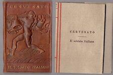 Cervesato Il Soldato italiano Breviari intellettuali N°105