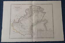 133 ZUCCAGNI ORLANDINI 1845 CARTA REGNO VENETO DOMINIO ROMANO M.EVO cvMP17/11/17
