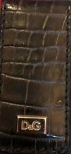 Dolce & gabbana new money clip crocodile leather RRP £179