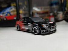 Hotwheels Mitsubishi Lancer Evolution Added Details And Wheels