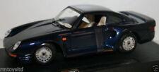 Altri modellini statici di veicoli blu marca Burago Scala 1:24