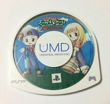 USED PSP Disc Only Bokujou Monogatari Harvest Moon Boy and Girl JAPAN Sony game