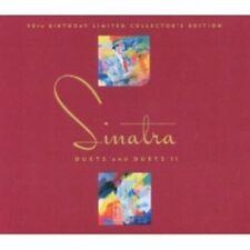 FRANK SINATRA - DUETS & DUETS II-WITH PAVAROTTI 2 CD 28 TRACKS AMERICAN POP NEUF