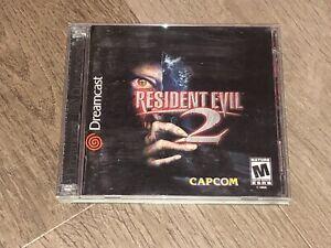 Resident Evil 2 Sega Dreamcast Complete CIB Tested