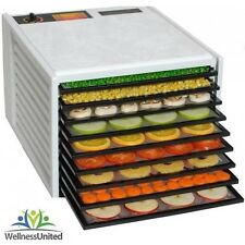 New Excalibur 9 Tray Dehydrator 4900 without timer + 2 year Warranty, WHITE