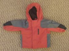 Columbia Sportswear infant boys girls red hooded parka jacket size 12 months