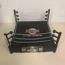 "Custom Vintage Wrestling Ring 14"" Action Figure Spring Loaded Mat NJPW ROH WWE"