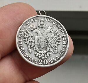 Austria  - moneta da 20 kreuzer 1853 a   argento