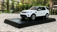 1/43 Land Rover Discovery 5 white Diecast Car Model Collection