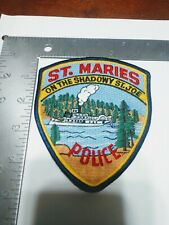 D Police patch patches st. Maries Idaho steamboat