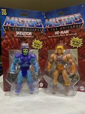 Masters of the Universe Skeletor He Man 5.5 inch 2 Action Figure Lot