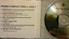 COMPILATION - PROMO PHONOGRAM FOR RADIO ( INXS BON JOVI  SALT N PEPA. ..). CD