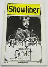 Nevada Opera Theatre SHOWLINER Playbill of the arts ROBERT GOULET CAMELOT 1994
