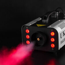 1200W Nebelmaschine RGB 6 LED DJ Bühnenbeleuchtung Remote Party Show Fog Machine