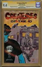 Creatures of the ID #1 CGC 9.4 Signature Series Signed MIKE ALLRED Madman App.