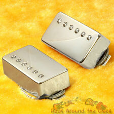 "Lindy Fralin ""Pure P.A.F."" Humbucker NEW Set Nickel Covers Hand Wound"