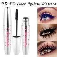 4D Silk Fiber Eyelash Mascara Extension Makeup Black Waterproof Eye Lashes NEW