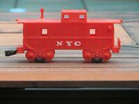 O SCALE MARX CABOOSE CAR NYC Vintage Train 1960'S Vintage
