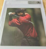 Signed Tiger Woods Autographed Photo - Beckett Authentic- Please see pictures