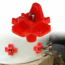 Automatic Chicken Feeder Drinking Devices Farm Poultry Water Drinker Supplies