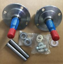 1928-1948 FORD STRIGHT AXLE SPINDLES WITH KING PIN KIT & BUSHINGS INSTALLED