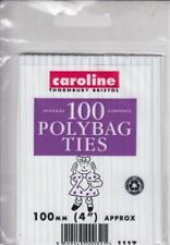 Caroline Polythene Bag Closures X 100 1117