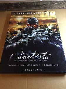 D'Artiste Character Modeling 3: Digital Artists Master Class (first edition)