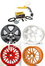 Powder Coating System +Four Paint Matte Black White Red Orange Yellow Auto Truck