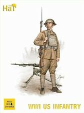 HaT 8112 - WW1 U.S. Infantry                               1:72 Plastic Figures