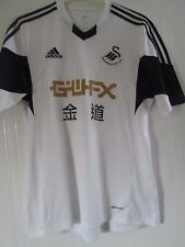 Swansea Home 2013-2014 Football Shirt Medium /41617