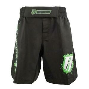 NEW REVGEAR SHORTS YOUTH MMA BLACK/GREEN