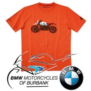 Iconic R nineT Urban GS T-Shirt Genuine BMW Motorrad Motorcycle STYLE