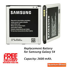 *NEW* Premium Quality Replacement Battery for Samsung Galaxy S4 2600mAH 0 Cycles