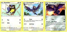 Pokemon Evolution Set - Corviknight 135/202 - Rare Card Lot Sword & Shield