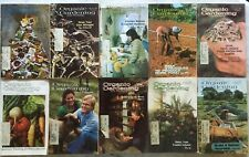 1975 ORGANIC GARDENING LOT 10 Softcover Books by Rodale Press